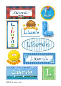 Libardo, nombre para stickers