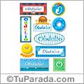 Obdulio, nombre para stickers