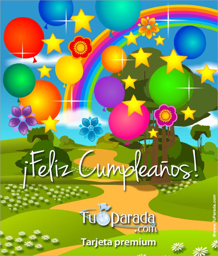 Tarjeta - Tarjeta expandible: Felicidades