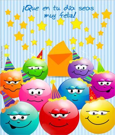 Tarjeta expandible: Feliz cumpleaños