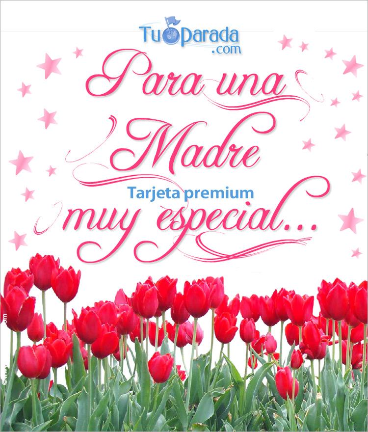 Tarjeta - Tarjeta expandible feliz día de la madre