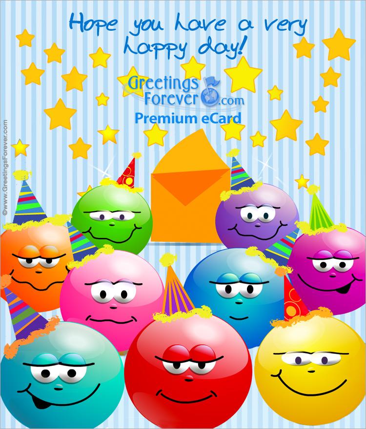 Ecard - Expandable eCard: Happy Birthday