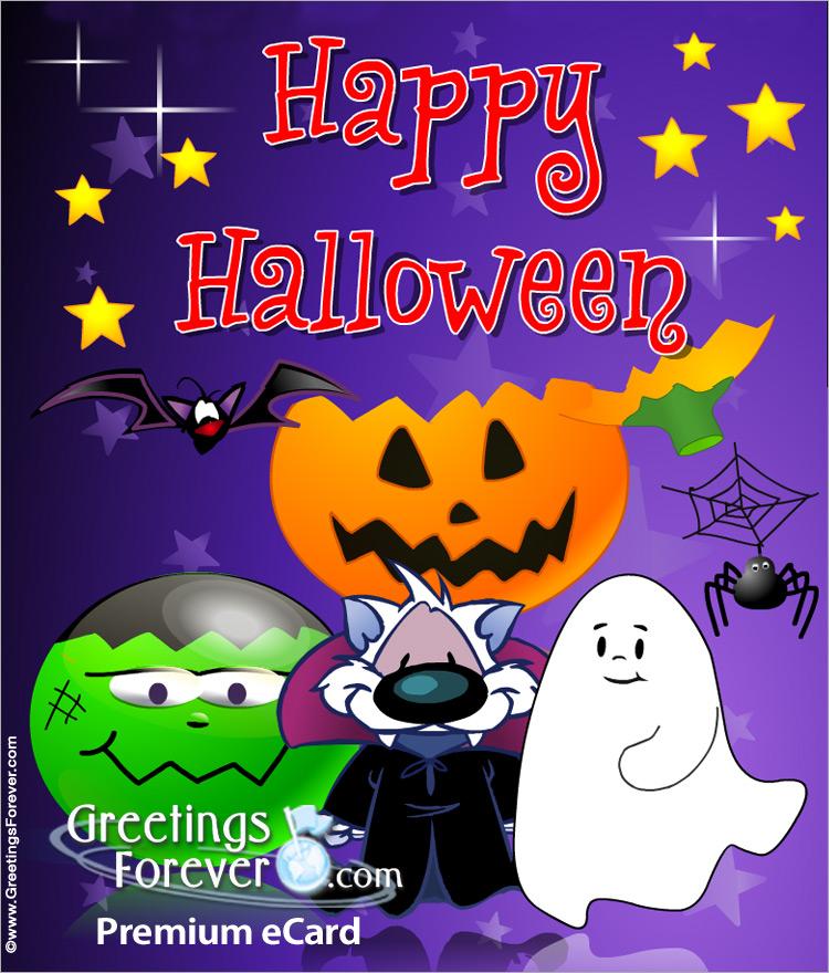 Ecard - Expandable eCard: Happy Halloween