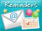 Ecards: Reminders