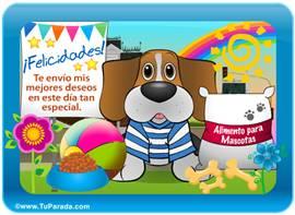 Tarjeta-juego: Perro Beagle