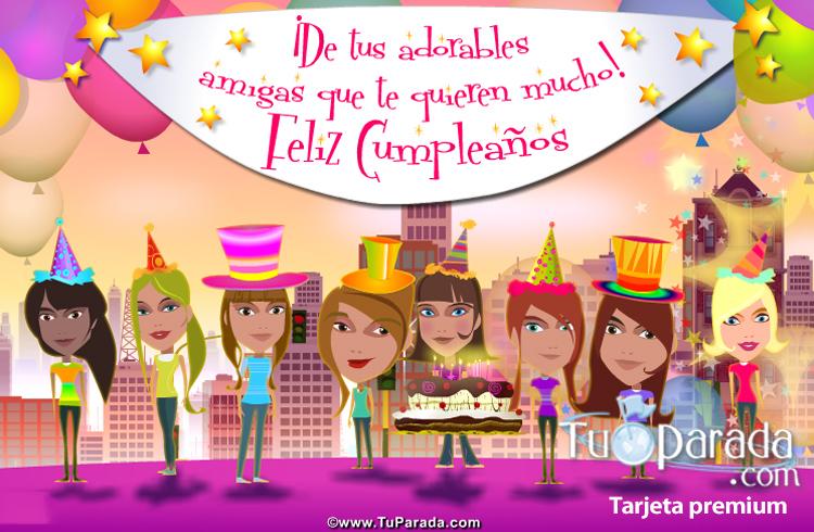 feliz cumpleaños rosa