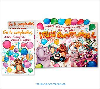 Tarjetas Ediciones Verónica