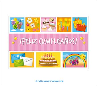 Tarjeta de cumpleaños - D510