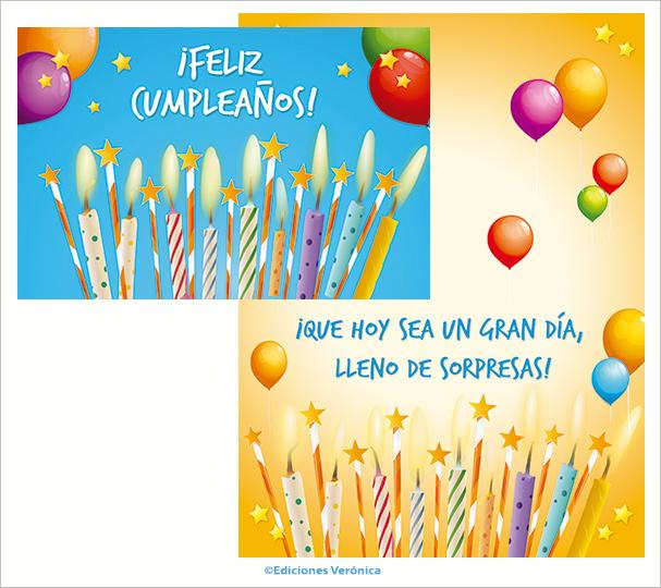 Tarjeta de cumpleaños - D509