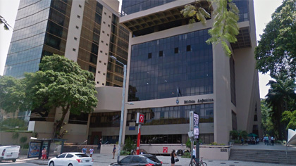 Tarjeta de Embajadas en Brasil