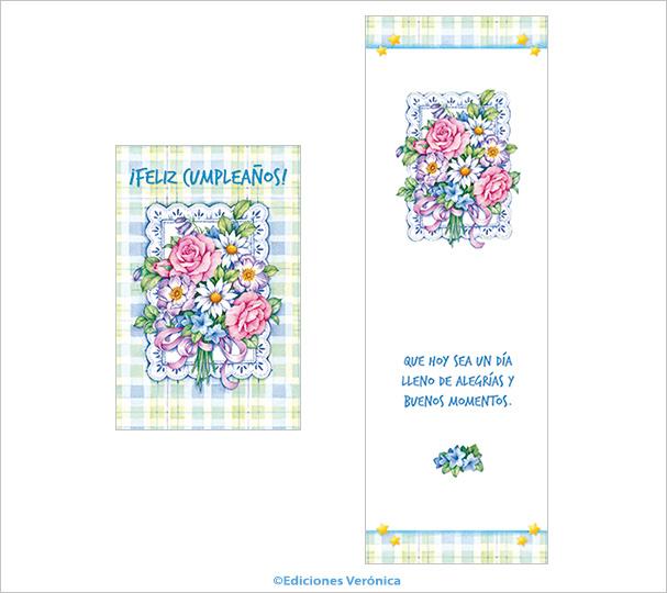 Tarjeta Flores - D517