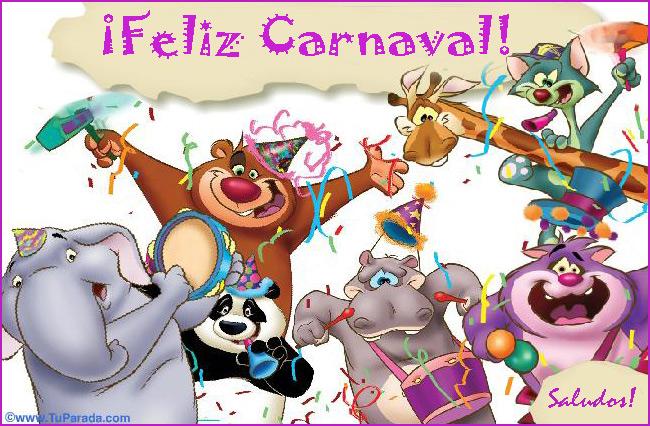 Tarjeta - Que pases un carnaval genial