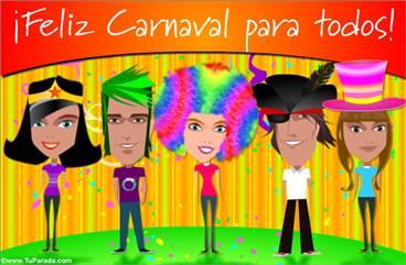 Ecard de carnaval