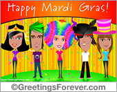 Mardi Gras ecards
