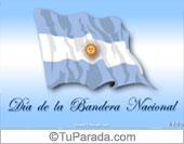 Tarjeta de Fiestas Patrias de Argentina