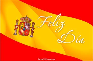 Tarjeta de bandera española