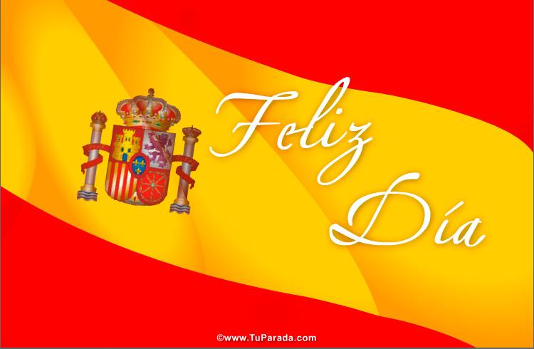 Tarjeta - Tarjeta de bandera española