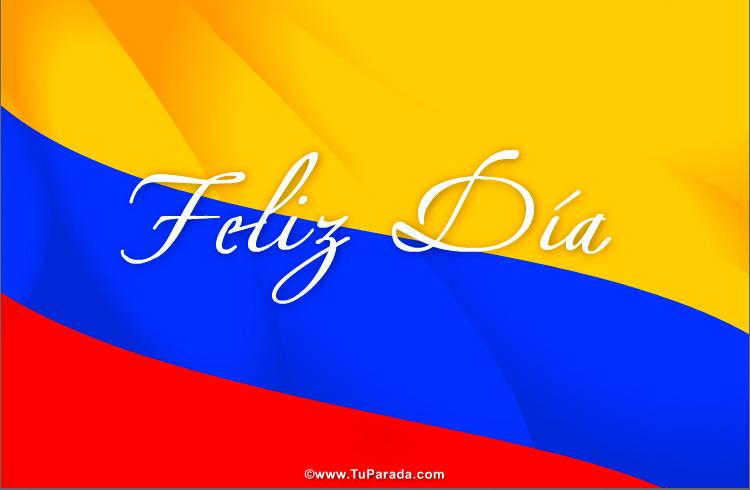 Tarjetas de Fiestas de Colombia
