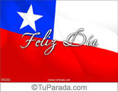 Tarjeta para fiestas de Chile