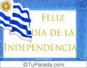 Tarjetas, postales: Fiestas de Uruguay