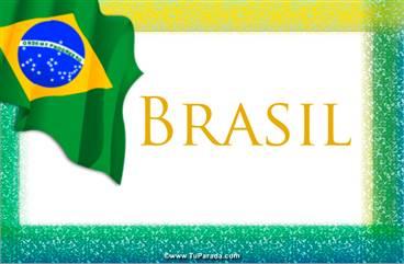 Tarjeta de Brasil