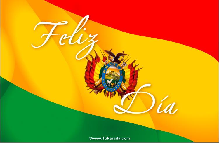 Tarjetas de Fiestas de Bolivia
