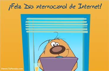 Postal para el día de Internet