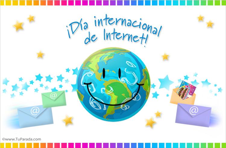 Tarjeta - Día de Internet