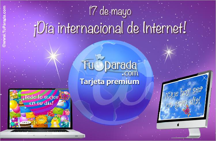 Tarjeta - Día internacional de Internet