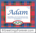 Meaning of Adam to print