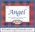 Meaning of Angel to print or send