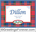Meaning of Dillon to print or send