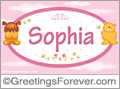 Names for babies, Sophia