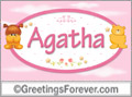Names for babies, Agatha