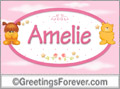 Names for babies, Amelie