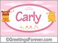 Names for babies, Carly
