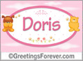 Names for babies, Doris