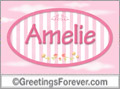 Names for doors, Amelie