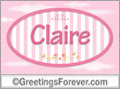 Names for doors, Claire