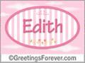 Names for doors, Edith