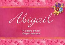 Nome Abigail
