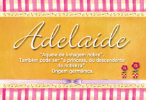 Nome Adelaide