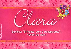 Nome Clara