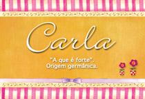 Nome Carla