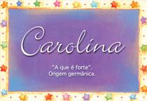 Nome Carolina