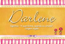 Nome Darlene