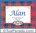 Significado e origem de Alan