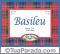 Significado e origem de Basileu