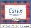 Significado e origem de Carlos