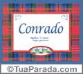 Significado e origem de Conrado